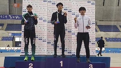 【専修大】「スピードスケート部」全日本距離別選手権大会で蟻戸一永が優勝