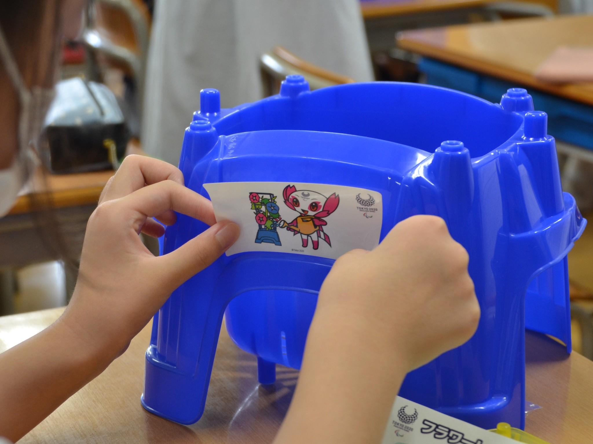 6年生 東京パラリンピックに向けた「プロジェクト」が始まっています